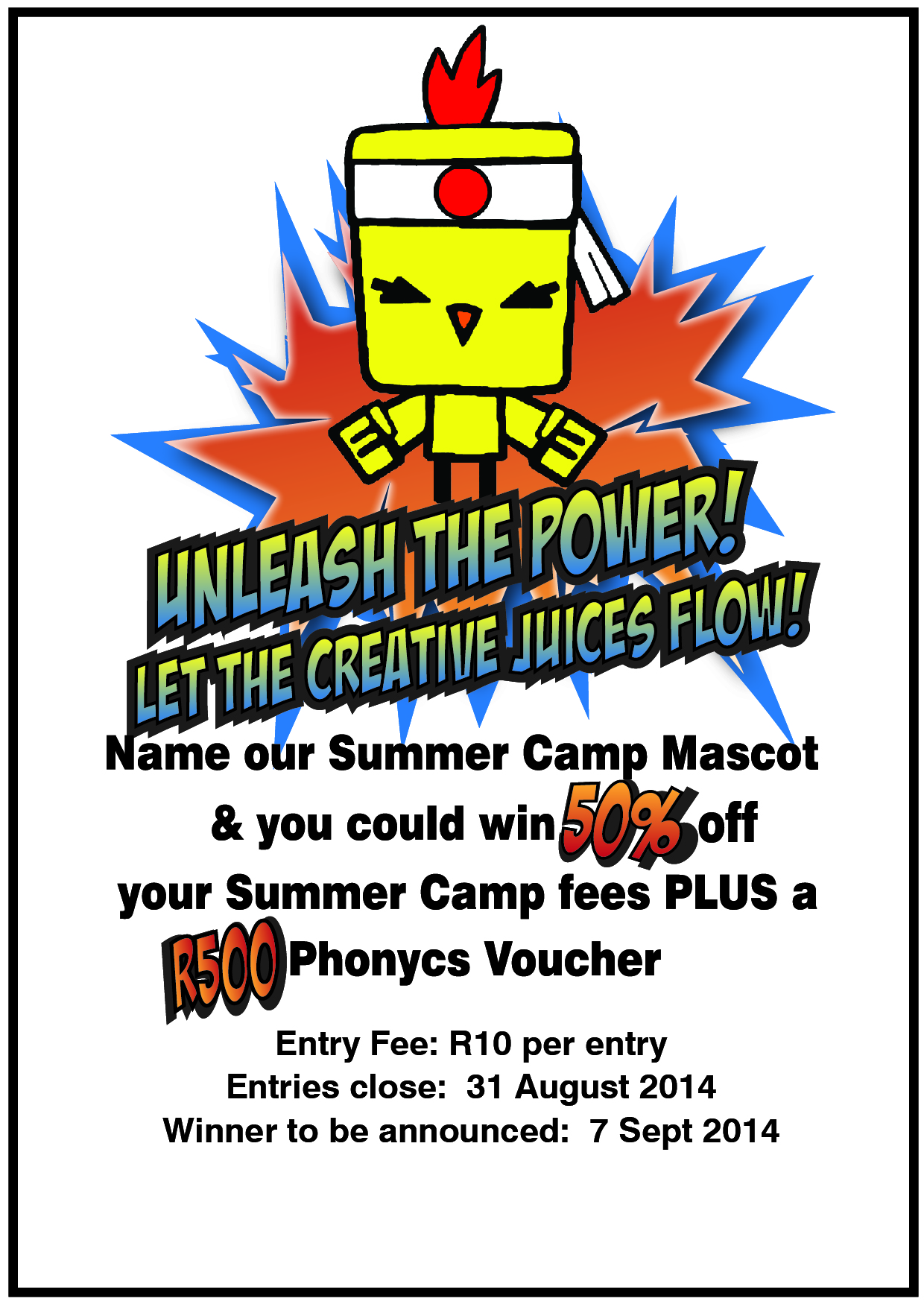 Summer Camp Mascot Competition